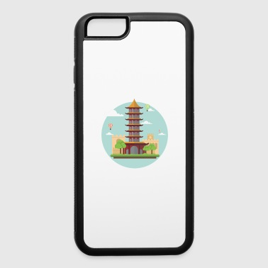 asian tower - iPhone 6/6s Rubber Case