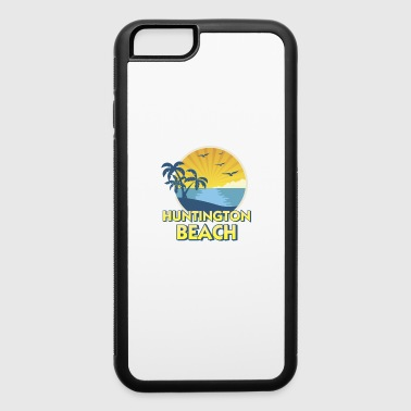 Vintage Huntington Beach, California Surfing 70s Retro - iPhone 6/6s Rubber Case
