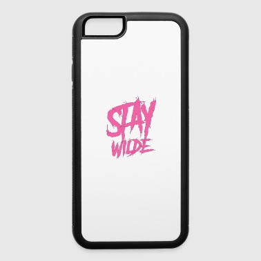 Stay wilde wall paint graffiti - iPhone 6/6s Rubber Case