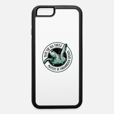 Save the Sea Turtle Shirt Endangered Species tee - iPhone 6 Case