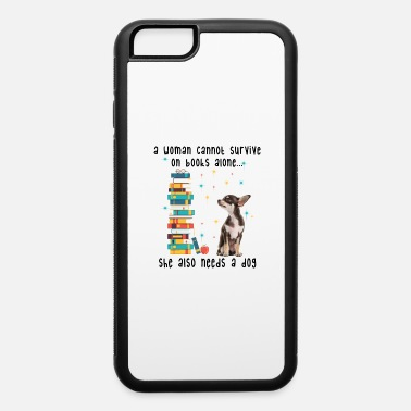 BOOK AND CHIHUAHUA - iPhone 6 Case