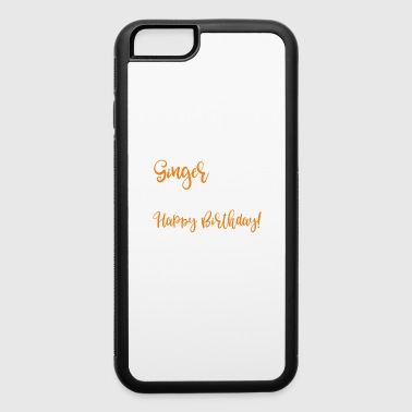 Ginger Birthday Gift Red Head - iPhone 6/6s Rubber Case