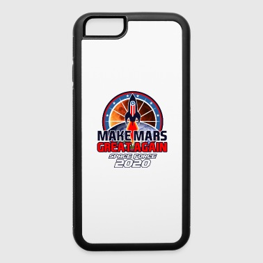 US Space Force New Military Branch Rocket to Mars Light - iPhone 6/6s Rubber Case