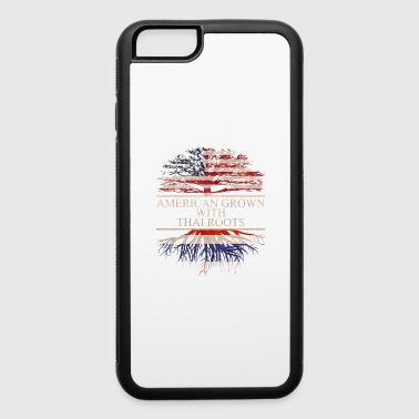 american grown with thai roots vintage - iPhone 6/6s Rubber Case