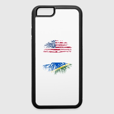 american grown with solomon island roots original - iPhone 6/6s Rubber Case