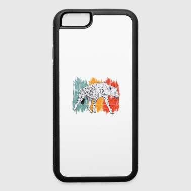 Animal Print Gift Hyena - iPhone 6/6s Rubber Case