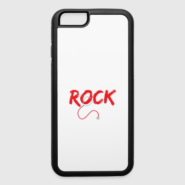 Nurse midwife rock worker gift - iPhone 6/6s Rubber Case