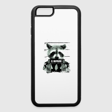 Animal Print Gift El Mapache - iPhone 6/6s Rubber Case