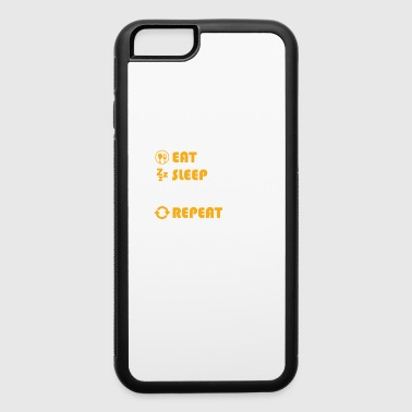 Volley Volleyball - present for men and women - iPhone 6/6s Rubber Case