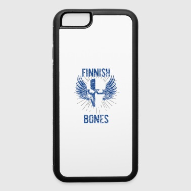 Finland flag banner gift gift idea - iPhone 6/6s Rubber Case