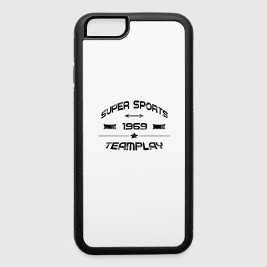 Super Car super sports teamplay 1969 - iPhone 6/6s Rubber Case