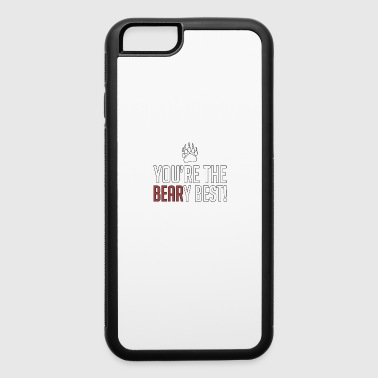 Running You're The Beary Best - Animal Puns - Total Basics - iPhone 6/6s Rubber Case