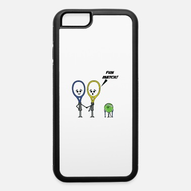 Matching Tennis Match - iPhone 6/6s Rubber Case