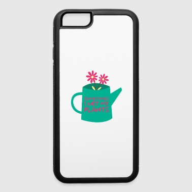 Sow Funny Gardening Flowers Plants Whisperer Gift - iPhone 6/6s Rubber Case