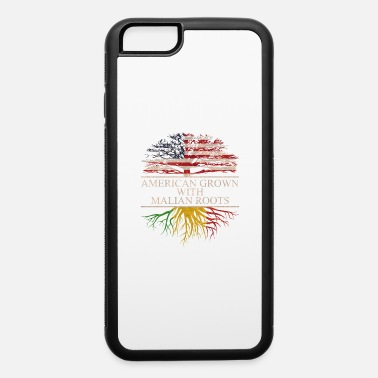 Mali american grown with malian roots - iPhone 6/6s Rubber Case