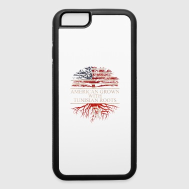 Tunisia American grown with tunisian roots vintage - iPhone 6/6s Rubber Case