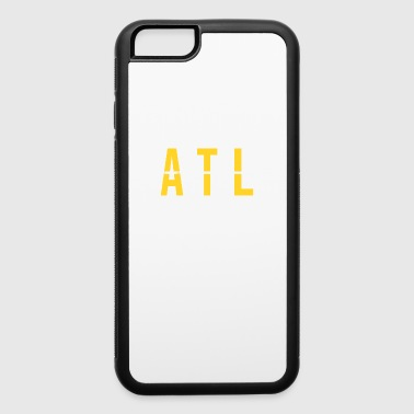 Pilot ATL - Atlanta USA Airport Code Souvenir or Gift Shirt Apparel - iPhone 6/6s Rubber Case