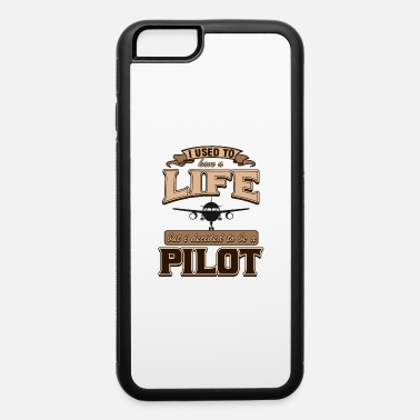 Captain Pilot Captain Aircraft Airplane Airman Gift - iPhone 6/6s Rubber Case