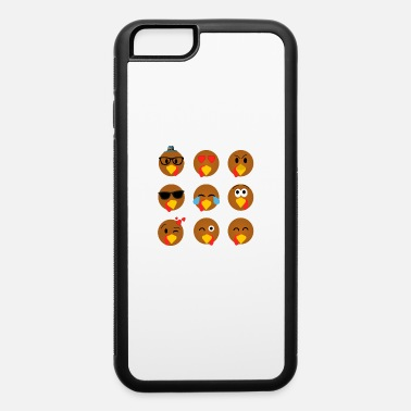Hungry Thanksgiving Day Turkey Gift for Fall Holiday - iPhone 6/6s Rubber Case