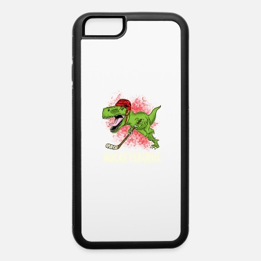 Toy Hockeysaurus gift - iPhone 6/6s Rubber Case