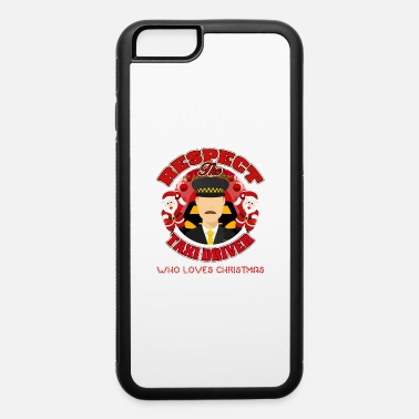 Vehicle Taxi Driver Drive Passenger Street Christmas Gift - iPhone 6/6s Rubber Case