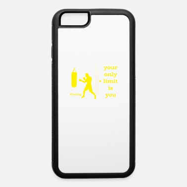 Fist Boxer Boxing Martial Arts Sports Fitness Gift - iPhone 6/6s Rubber Case