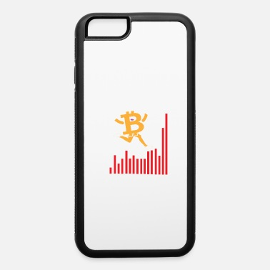 Euro Bitcoin Exchange Chart Figur - Cryptocurrency - iPhone 6/6s Rubber Case