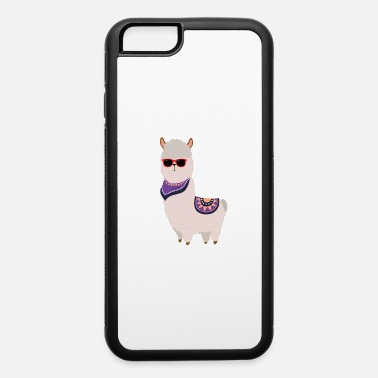 Wool No Problem - Cool Alpaca Lama - iPhone 6/6s Rubber Case