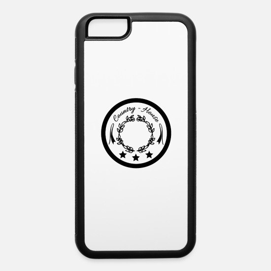 House iPhone Cases - Vintage House - iPhone 6 Case white/black