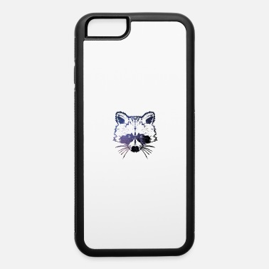 Cool raccoon - iPhone 6/6s Rubber Case