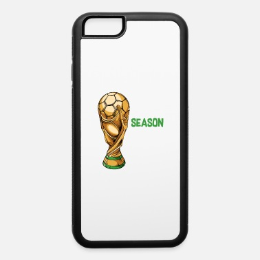 Matching Soccer Sports Cup Game Payer Champion - iPhone 6/6s Rubber Case