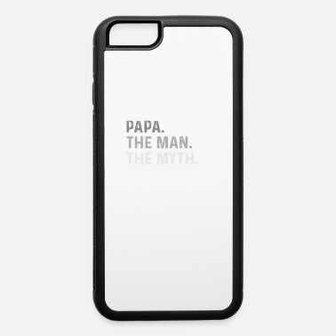 Creature Mens Papa Man Myth Legend Shirt For Mens Dad - iPhone 6/6s Rubber Case