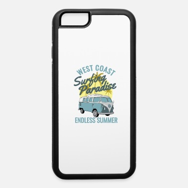 Aloha west coast surfing - iPhone 6/6s Rubber Case