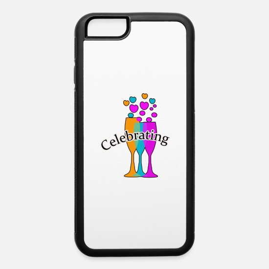 Occasion iPhone Cases - Celebrating,Birthday,Anniversary,Birth T-shirts - iPhone 6 Case white/black