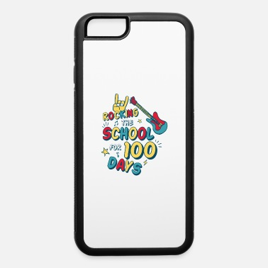 Kindergarten 100 Days of School for Kindergarten Elementary - iPhone 6/6s Rubber Case