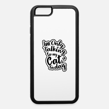 Girl Cat - iPhone 6/6s Rubber Case