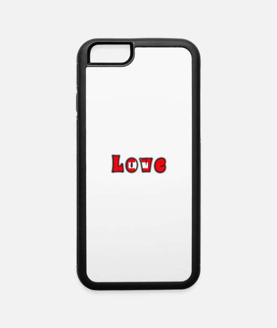 Bern iPhone Cases - Love Switzerland - iPhone 6 Case white/black
