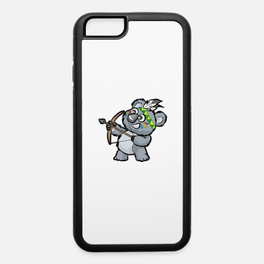 Indian Bear CUTE INDIAN KOALA BEAR Bow and Arrow Cartoon Gift - iPhone 6 Case