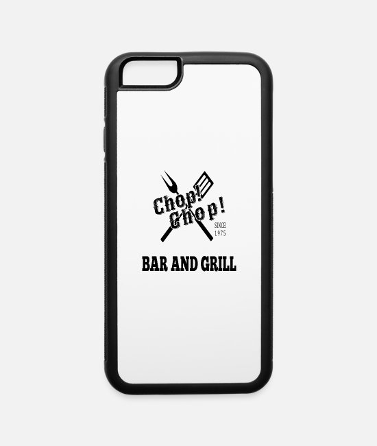 BBQ iPhone Cases - Bar and Grill - iPhone 6 Case white/black
