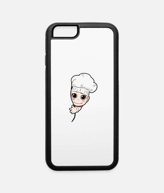 Pregnancy iPhone Cases - Baby Cook Pregnancy Pregnancy - iPhone 6 Case white/black