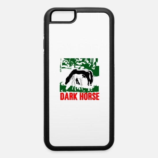 Darkroom iPhone Cases - Dark horse - iPhone 6 Case white/black