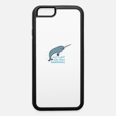 Narwhal Narwhal love no Unicon Sea ocean arctic present - iPhone 6 Case