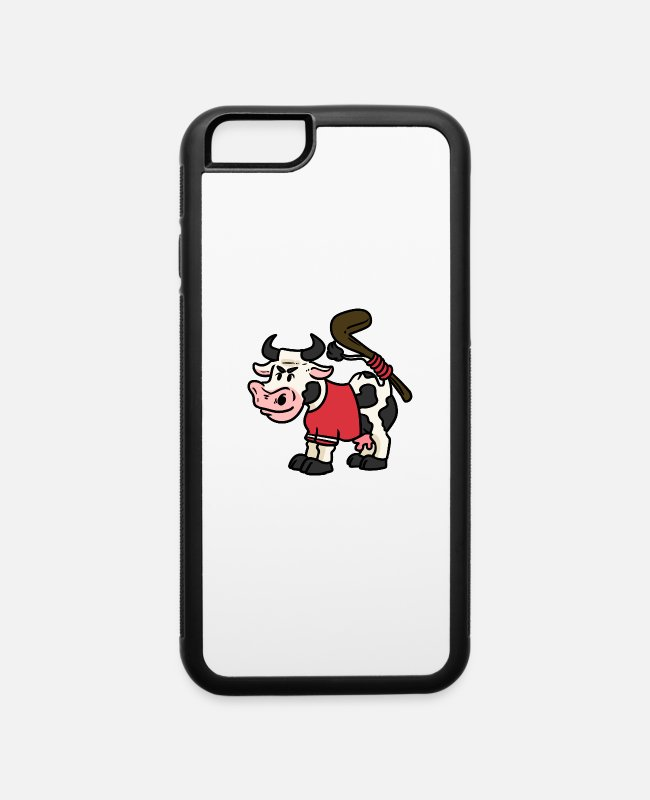 Indoor Hockey iPhone Cases - Hockey Gift Sport Team Field Hockey Team - iPhone 6 Case white/black