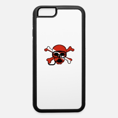 Scuba Skull and Crossbones Scuba Diving Dive Flag design - iPhone 6 Case