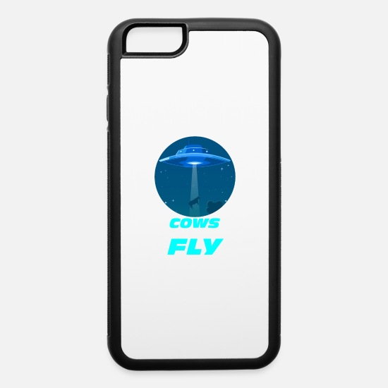 Superhero iPhone Cases - Cows can fly - iPhone 6 Case white/black