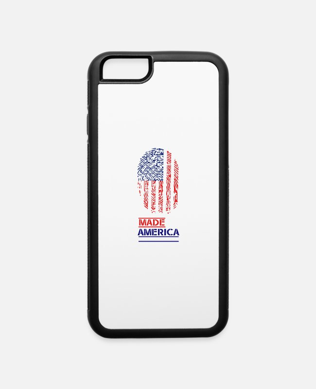 Design iPhone Cases - Made in America - iPhone 6 Case white/black