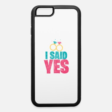 Flowers Engagement Wedding Ring Man Woman Gift - iPhone 6 Case
