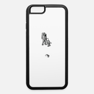 Cleaning Lady ASTRONAUT VACUUM CLEANER Outta Space Milky Way - iPhone 6 Case