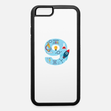 Youth Sizes Youth Blue Number #9 Years Old print Science - iPhone 6 Case