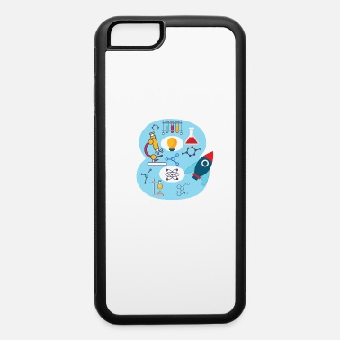 Youth Sizes Youth Blue Number #8 Years Old print Science - iPhone 6 Case
